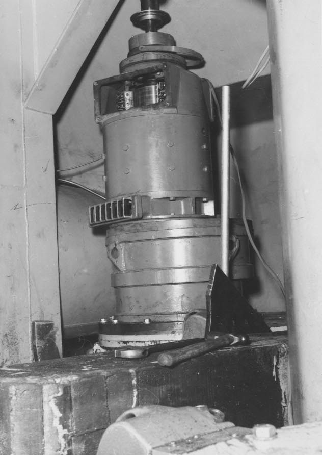Part of the Azimuth drive motor